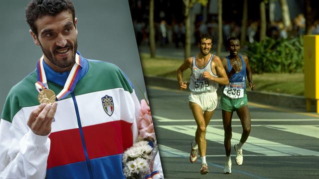 Gelindo Bordin, l'eroe di Seul 1988: taglia il traguardo e bacia la pista, che momento!