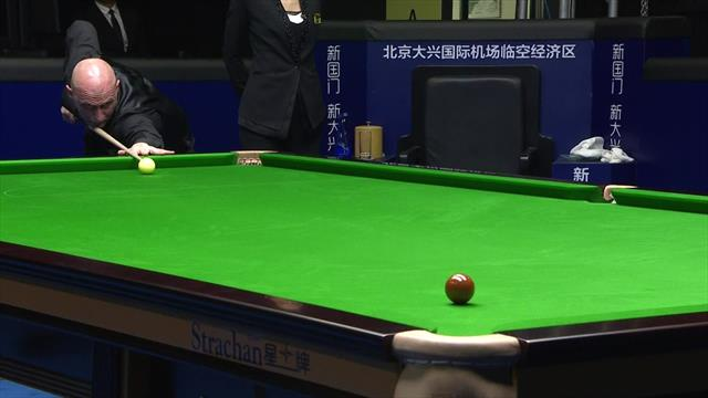 Selby hits white off table, concedes match to Steadman