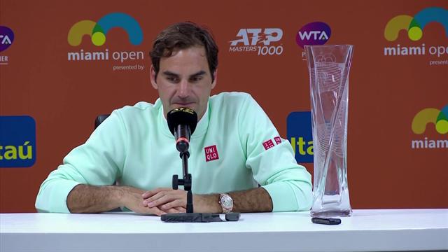 Federer 'sorry' Tsitsipas feels umpires favour long-standing stars