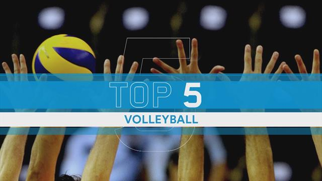 Oubliez le beach volley : voici le top 5 des points en snow volley
