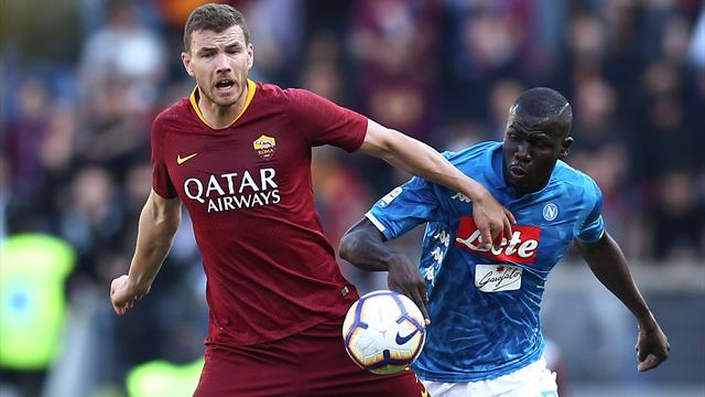 Calciomercato Roma, l'Inter in pressing su Dzeko e Kolarov
