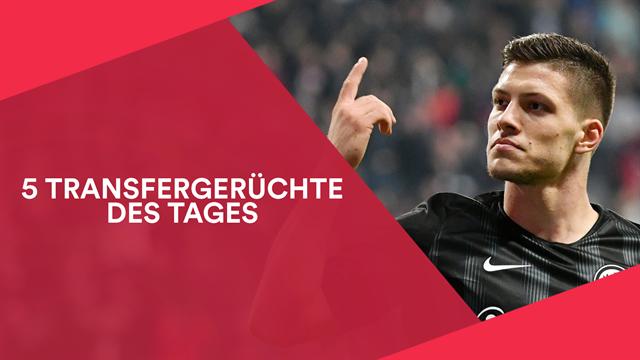 5 Transfergerüchte: PSG plötzlich Favorit im Rennen um Jović