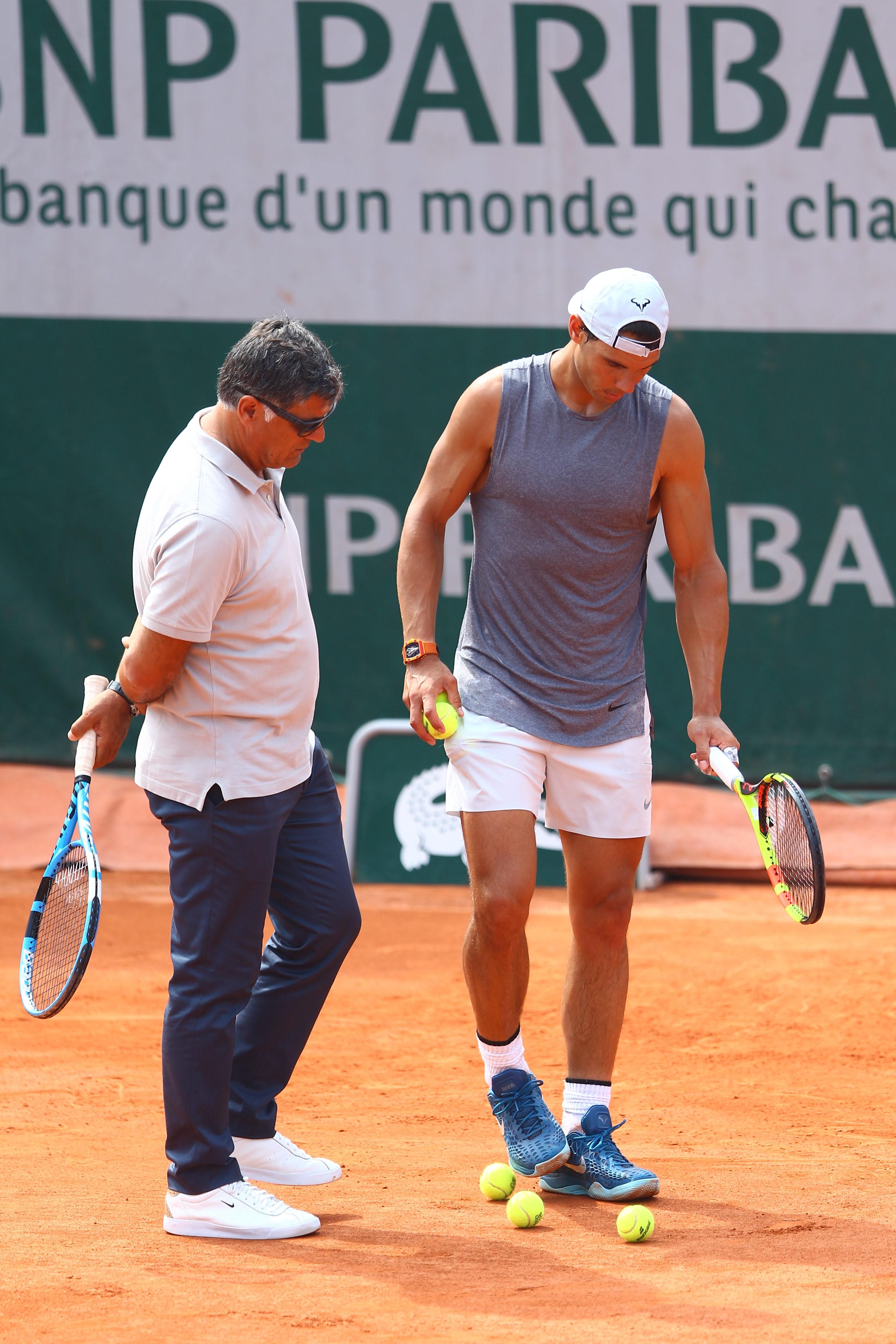 Toni Nadal & Rafael Nadal
