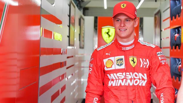 Mick Schumacher debutta in Ferrari e ottiene il secondo tempo