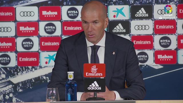 """Zidane: """"Con Bale interpretáis lo que queréis"""""""