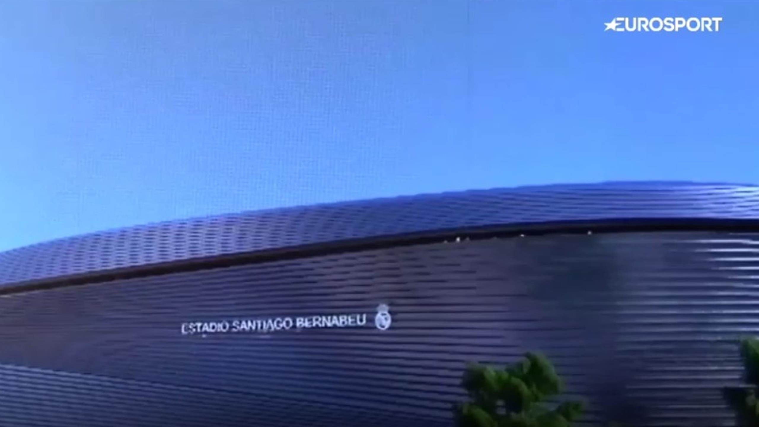 Новый стадион атлетик бильбао макет