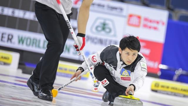 Japan secure play-off spot as Scotland falter at Curling Worlds