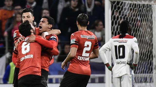 Pétard de Ben Arfa puis André plus prompt que Marcelo : Rennes a repris les devants
