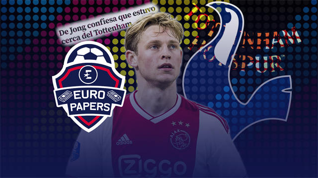Euro Papers: Frenkie De Jong admits he almost signed for Tottenham