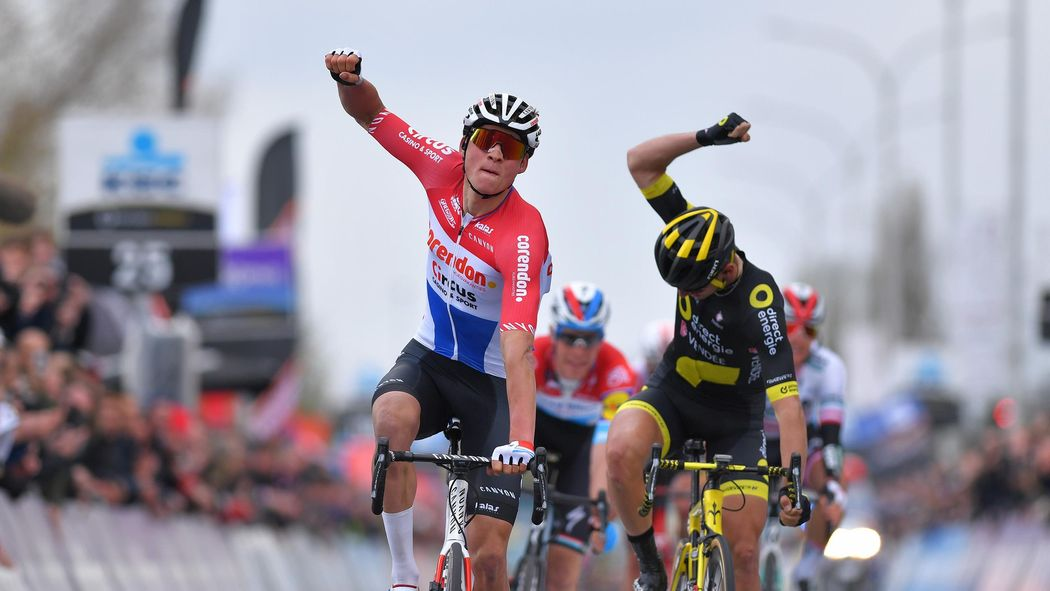 Van der Poel takes maiden WorldTour win in Belgium - Dwars