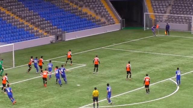 Игрок молодежки «Астаны» забил прямым ударом с углового