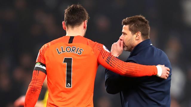Lloris blessé pour Tottenham et remplacé contre Manchester City