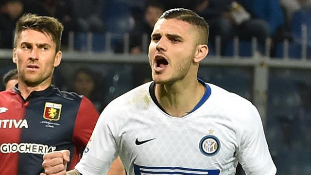 Mauro Icardi marks return with goal as Inter Milan thrash Genoa