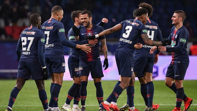 Sans flamber mais sans trembler : le PSG a géré sa demie contre Nantes