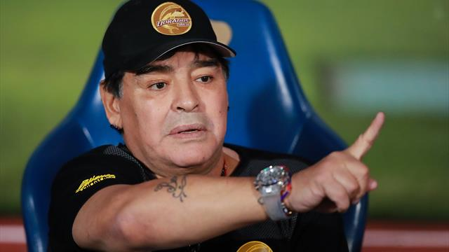 Furieux contre l'arbitrage, Maradona va arrêter d'entraîner les Dorados