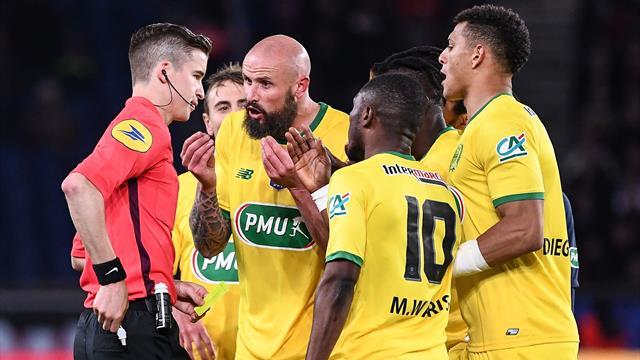 """Derrien après PSG - Nantes : """"Il faut arrêter de penser que les gros clubs sont protégés"""""""