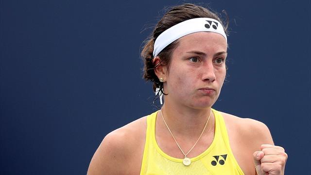Sevastova stunned, seeds struggle at Charleston Open