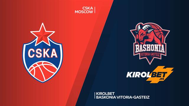 Highlights: CSKA Moscow 68-78 Kirolbet Baskonia Vitoria-Gasteiz