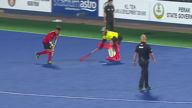 Unreal skill! Watch South Korea's hockey captain hit a stunning shootout winning goal