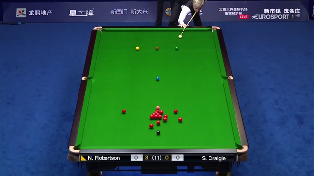 Robertson in sublime form at China Open