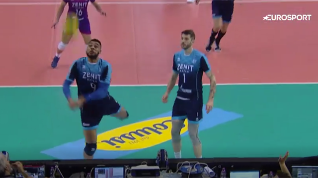 Top 5 extraordinary rallies from Volleyball's CEV Champions League