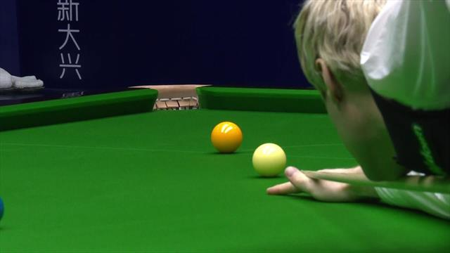 'Fantastic!' - Robertson makes 135 break against Brecel