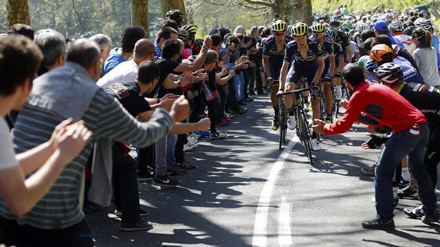 Turul Țării Bascilor se vede în direct pe canelele Eurosport