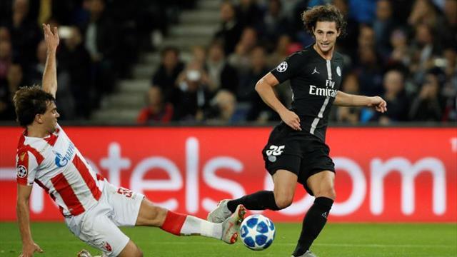 PSG multa a Adrien Rabiot por dar un like
