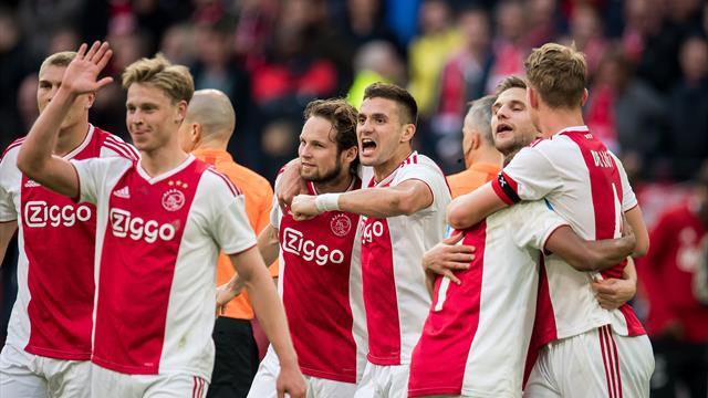 """""""On a joué sur des parkings car on ne peut pas tacler sur du béton"""" : Comment l'Ajax s'est réinventé"""