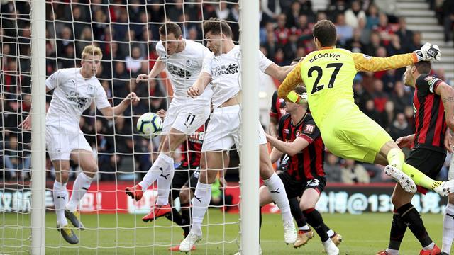 Forsvarskluss hos Kings Bournemouth sikret viktig Burnley-seier