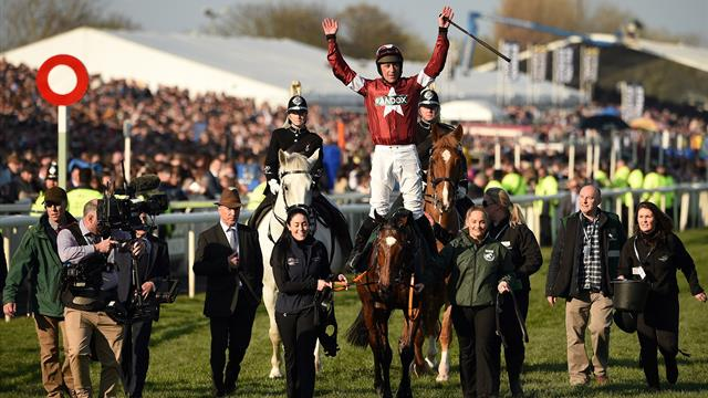 Tiger Roll races into history after Grand National triumph
