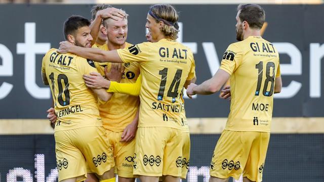 Målfest da Bodø/Glimt slo Mjøndalen 5-4