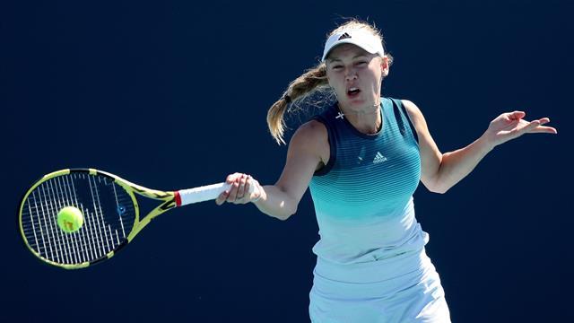 Wozniacki affrontera Keys en finale