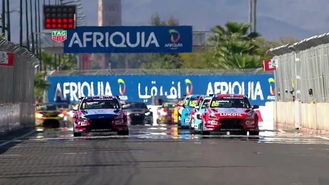 WTCR Marrakech: Tarquini se impone con autoridad en la segunda carrera