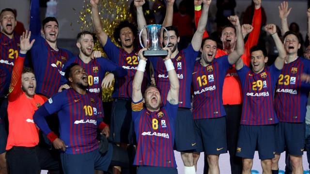 34-18. El Barça Lassa devora a un Liberbank Cuenca sin fuerzas
