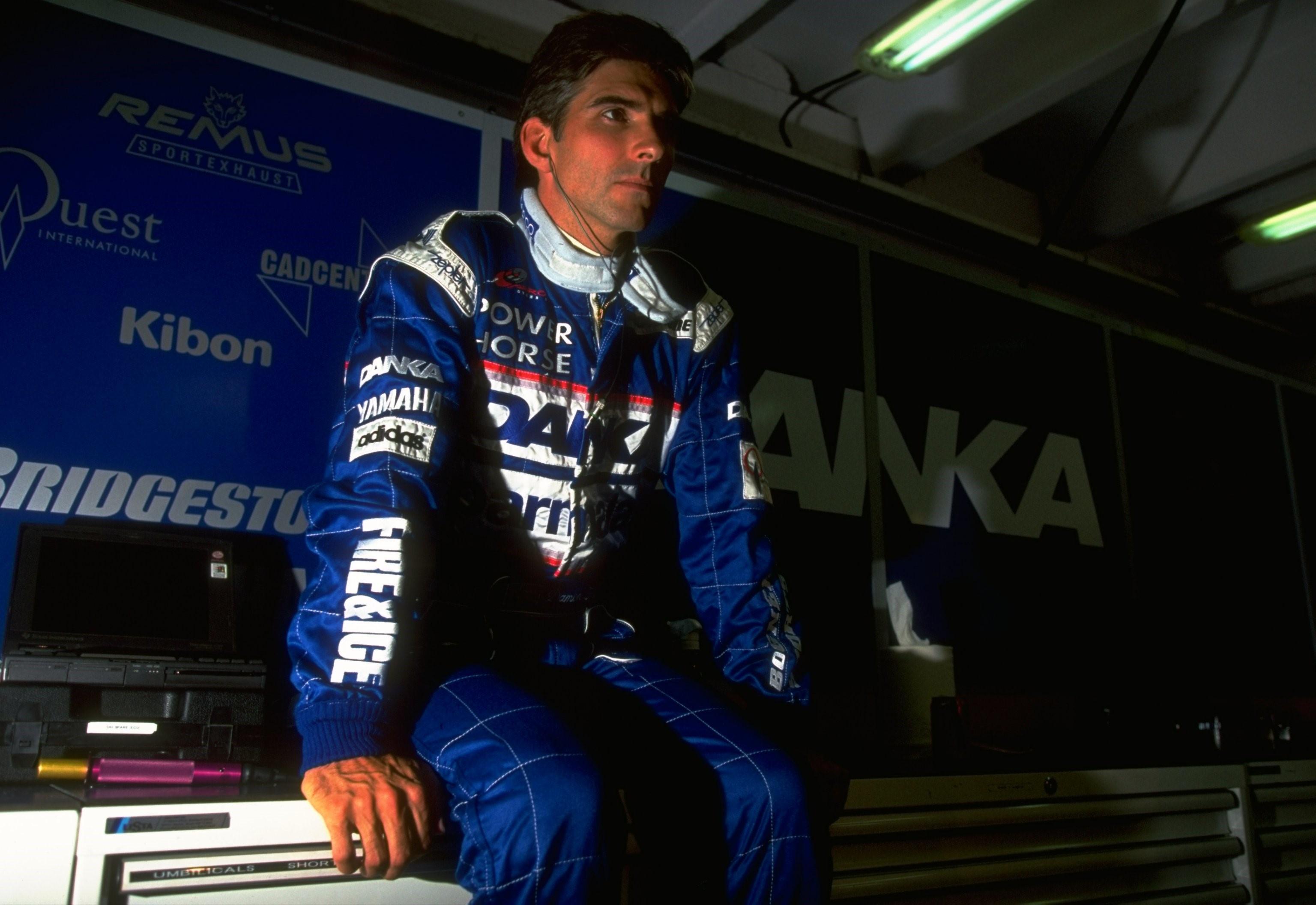 Damon Hill (Arrows) au Grand Prix de Hongrie 1989