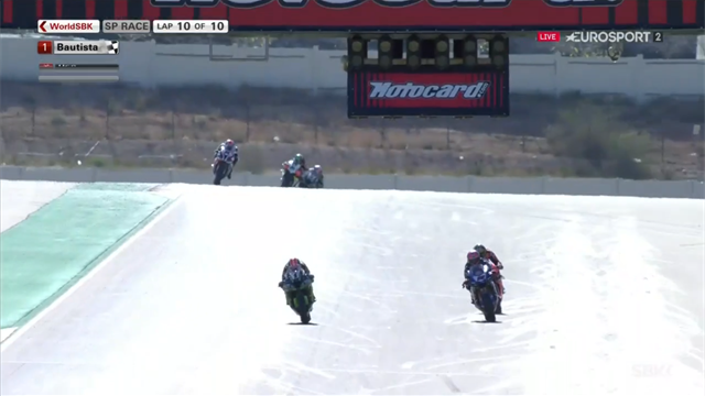 WorldSBK Aragon: Finish Superpole