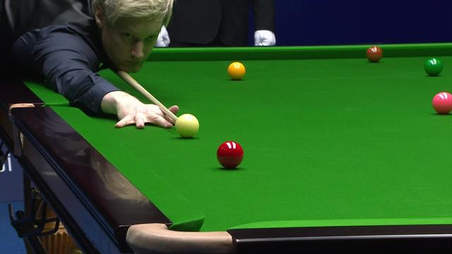 Robertson completes victory at the China Open