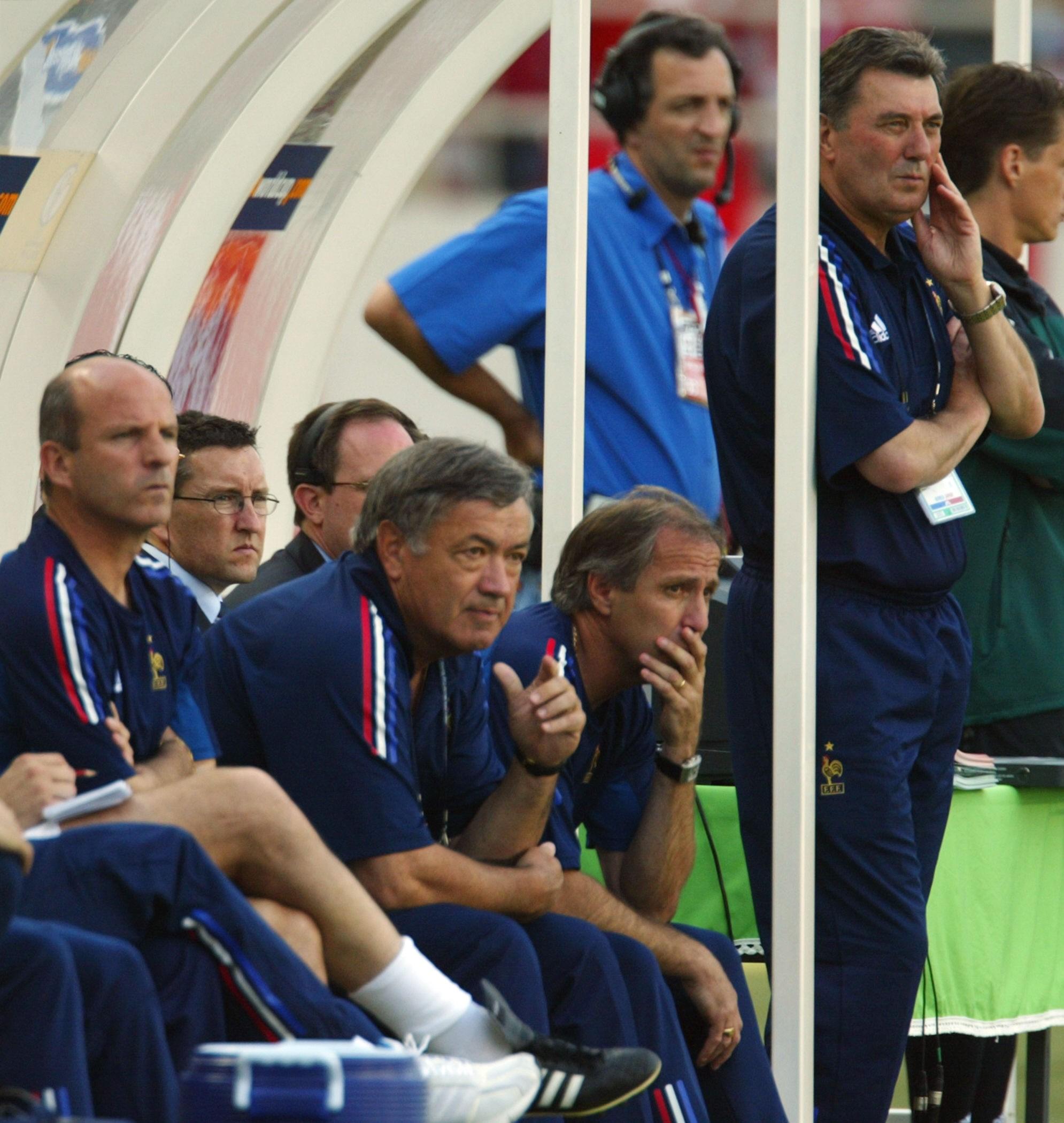 Guy Stephan lors de la Coupe du monde 2002