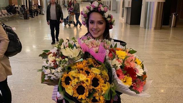 Загитова вернулась из Японии в Москву через две недели после ЧМ
