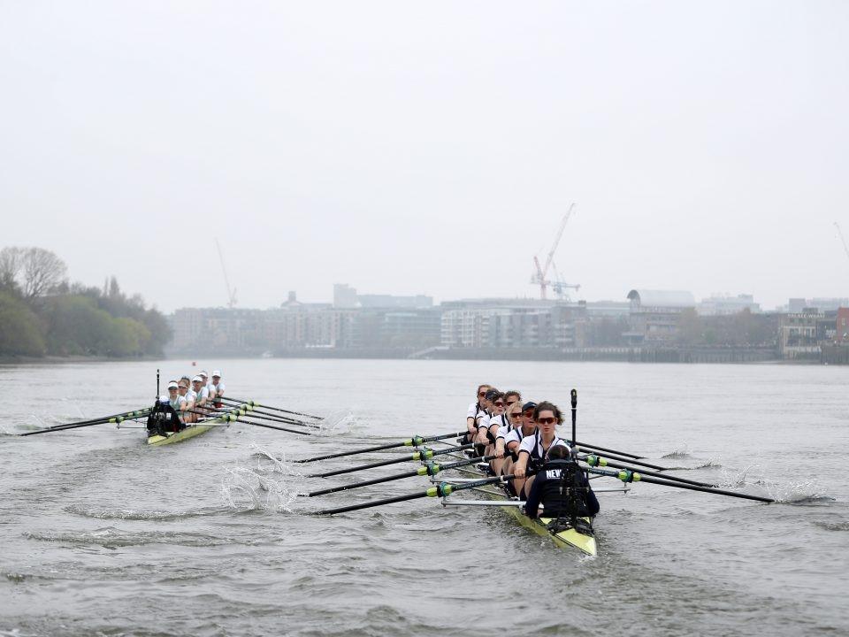 Boat Race 2019 kadınlar yarışı