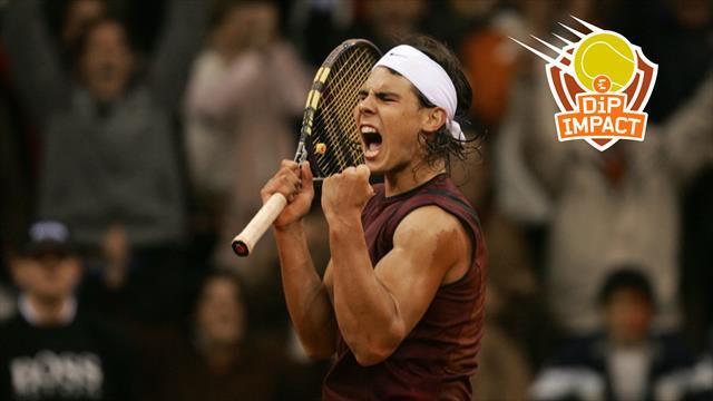 """Di Pasquale : """"J'ai joué Nadal en 2004 et c'était déjà un bulldozer"""""""