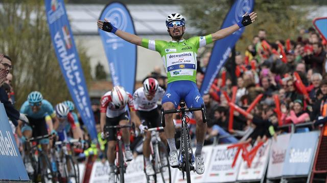 Ronde van het Baskenland | Alaphilippe slaat toe in slotklim en wint tweede etappe