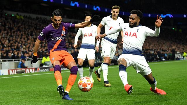 Manchester City-Tottenham, goal di Llorente dubbio: il VAR lo assegna