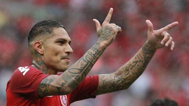 El Inter de Porto Alegre anunció el regreso de Guerrero