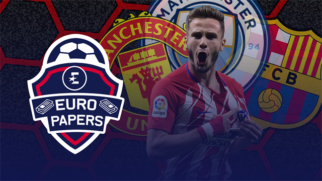 Euro Papers: Manchester clubs battle Barcelona for worried Atletico star