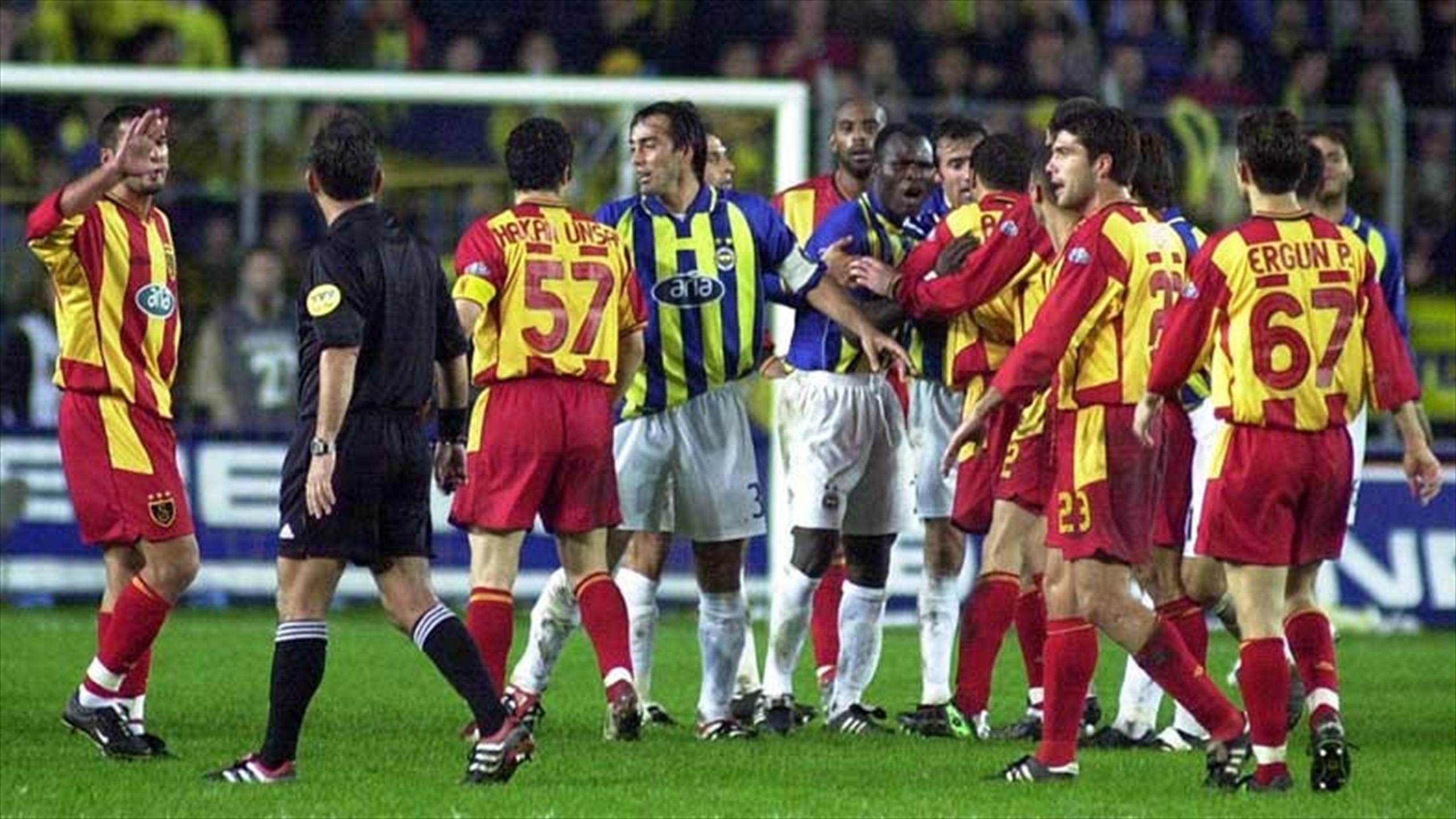 Fenerbahçe'in Kadıköy'de Galatasaray'a Yenilmediği 19 lig maçı 6