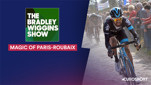 Wiggins and Backstedt on cobbled magic of Paris-Roubaix