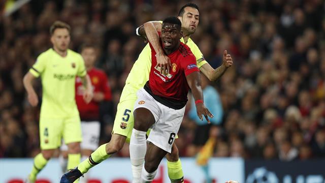 Le pagelle di Manchester United-Barcellona 0-1: Busquets padrone di metà campo, Suarez al top