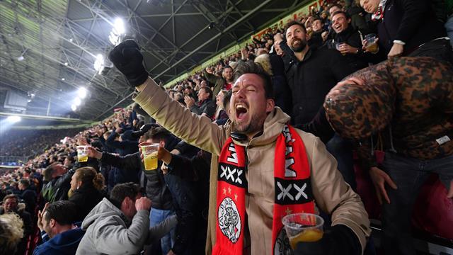 Une cinquantaine de supporters de l'Ajax bientôt expulsés d'Italie